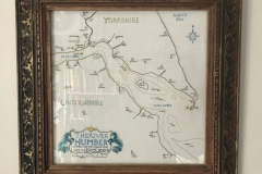 Map of Humber Estuary c1774, stitched for City of Culture year 2017